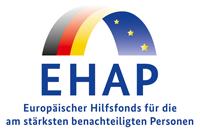 Logo des Eurpäischen Hilfsfonds EHAP