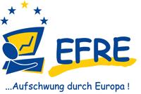 Logo des europäischen Fonns für Reionale Entwicklung