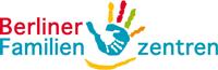 Logo mit bunter Hand