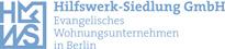 Logo der ev. Wohnungsgesellschaft Hilfswerk-Siedlung