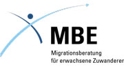 Logo der Migrationsberatung für erwachsene Zuwanderer