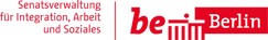 Logo der Senatsverwaltung Integration, Arbeit und Soziales