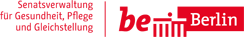 Logo der Senatsverwaltung Gesundheit, Pflege und Gleichstellung