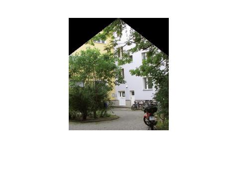 Foto des Wohnverbundes in Form eines Hauses